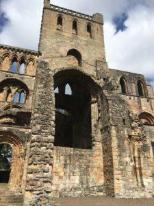 Tower of Jedburgh Abbey