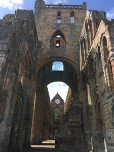 East end of Jedburgh Abbey