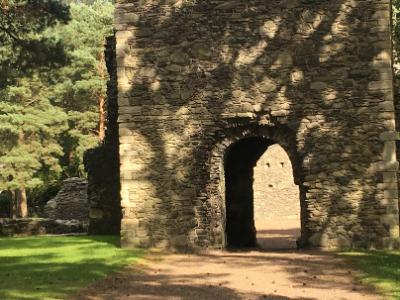 Entrance To Cross Kirk