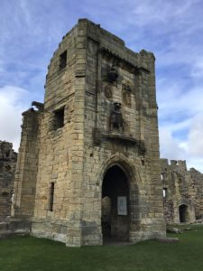 The Lion Tower at Warkworth Castle