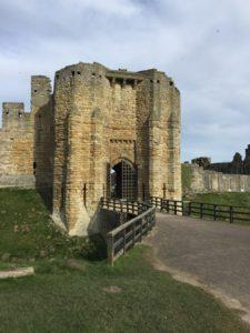 The Gatehouse at Warkworth Castle
