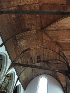 Vaulted ceiling in Oude Kerk