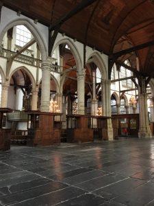 The interior of Oude Kerk