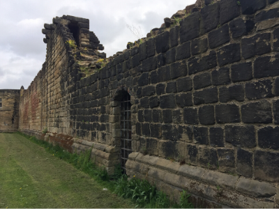 Newcastle medieval town walls