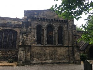 The Lady Chapel's windows from the outside