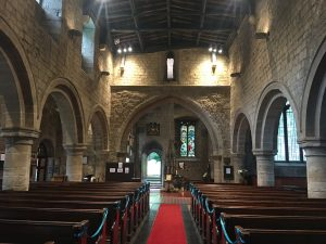 The Nave at St Andrew's Church