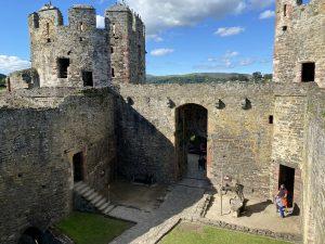 West Barbican at Conwy Castle