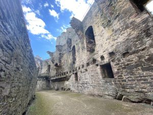 The Great Hall of Conwy Castle