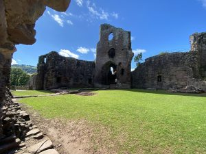 14th Century Tower at Grosmont Castle, Wales