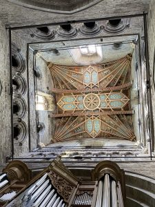 Ceiling in the Quire