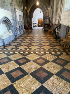 North Quire Aisle at St David's Cathedral