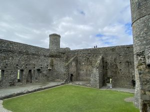 Inner Courtyard at Harlech Castle