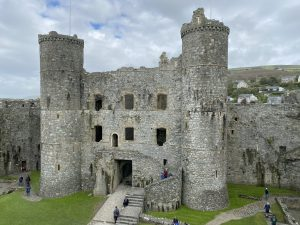 Gatehouse seen from the inner courtyard at Harlech Castle