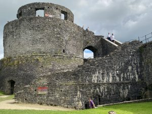 The Round Tower at Dinefwr Castle