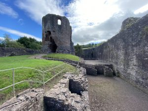 The Hall Range at Skenfrith Castle, Wales