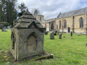 Churchyard at St Mary the Virgin, Morpeth