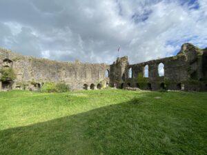 Inner Ward at Haverfordwest Castle