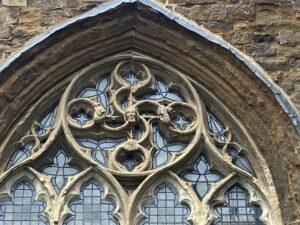 Tracery at St Mary's Church, Bloxham