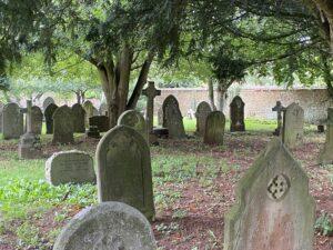 Churchyard at St Mary's Church, Bloxham