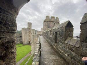 Wall Walk at Caernarfon Castle