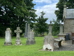 Churchyard at Fala and Soutra Church